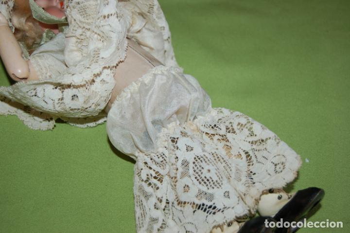 Muñecas Porcelana: dep jumeau automata andadora a cuerda funciona - Foto 14 - 133000310