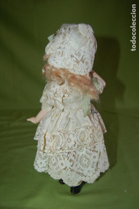 Muñecas Porcelana: dep jumeau automata andadora a cuerda funciona - Foto 18 - 133000310