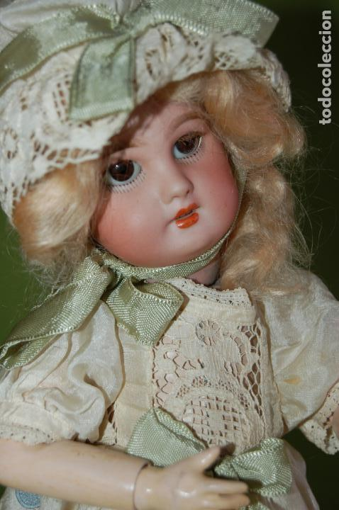 Muñecas Porcelana: dep jumeau automata andadora a cuerda funciona - Foto 21 - 133000310