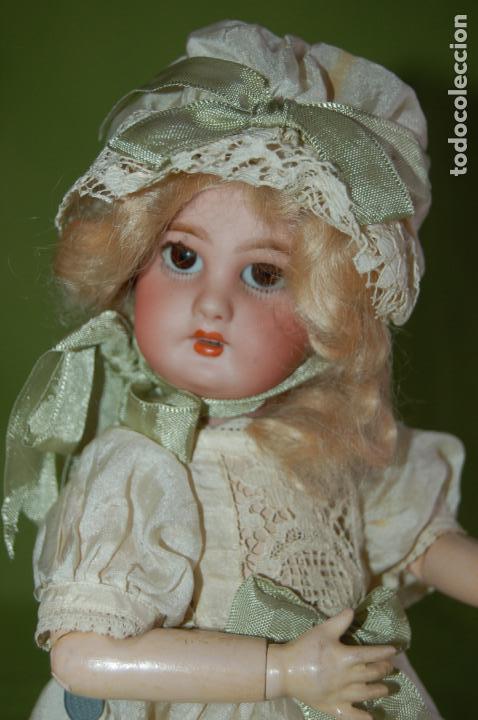Muñecas Porcelana: dep jumeau automata andadora a cuerda funciona - Foto 22 - 133000310