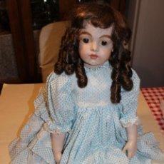 Muñecas Porcelana: PRECIOSA REPRODUCCION DE MUÑECA BRU JNE. Lote 133757578
