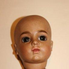 Muñecas Porcelana: REPRODUCCION EN PORCELANA DE BUSTO Y CABEZA DE BRU MULATA. Lote 133759038