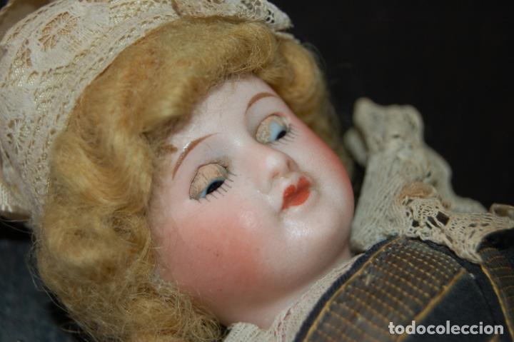 Muñecas Porcelana: muñeca francesa sfbj 60 boca cerrada - Foto 4 - 135899666