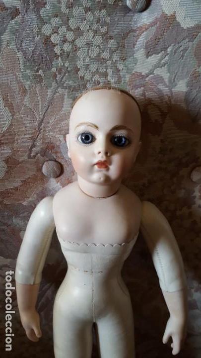 Muñecas Porcelana: Antigua reproducción de muñeca francesa Bru - Foto 2 - 136597630