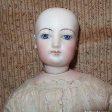 Muñecas Porcelana: MUÑECA GAULTIER,GESLAND BODY,PORCELANA,FRANCE,AÑO 1889(FINALES DEL SIGLO XIX). Lote 137792218