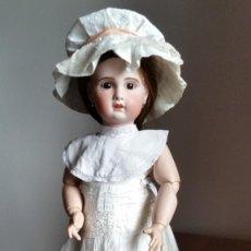 Muñecas Porcelana: MUÑECA FRANCESA SFBJ PARIS PPIO. S.XX DE 60 CM,. Lote 137898762