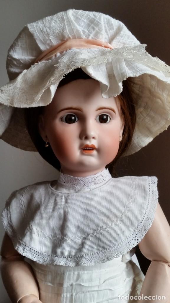 Muñecas Porcelana: MUÑECA FRANCESA SFBJ PARIS PPIO. S.XX DE 60 CM, - Foto 2 - 137898762