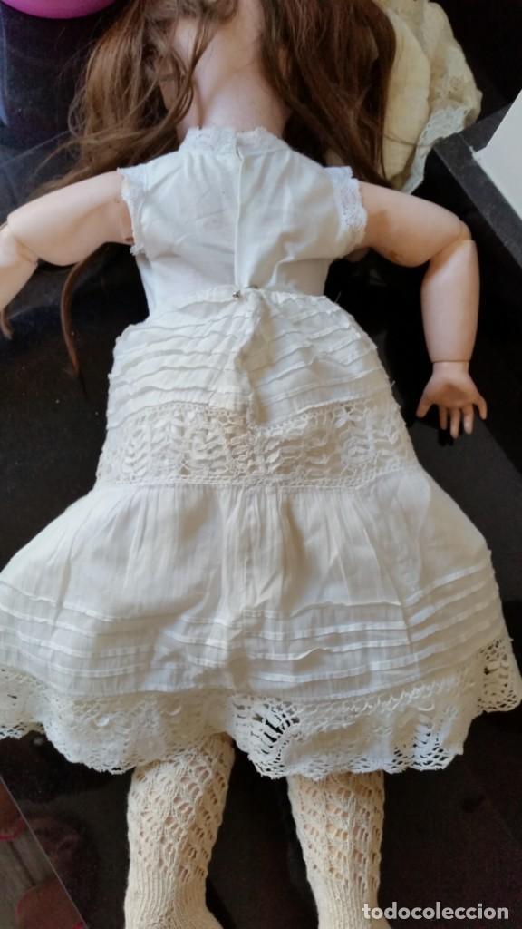 Muñecas Porcelana: MUÑECA FRANCESA SFBJ PARIS PPIO. S.XX DE 60 CM, - Foto 4 - 137898762