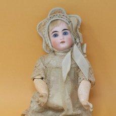 Muñecas Porcelana: MUÑECA FRANCESA, CUERPO DE PASTA ARTICULADO Y CABEZA DE PORCELANA. PRINCIPIOS S.XX 29 CM. Lote 140370716