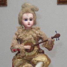 Muñecas Porcelana: AUTÓMATA VICHY,TETE JUMEAU,TROVADOR,FRANCE,FINALES DEL S.XIX,FUNCIONANDO. Lote 138960186