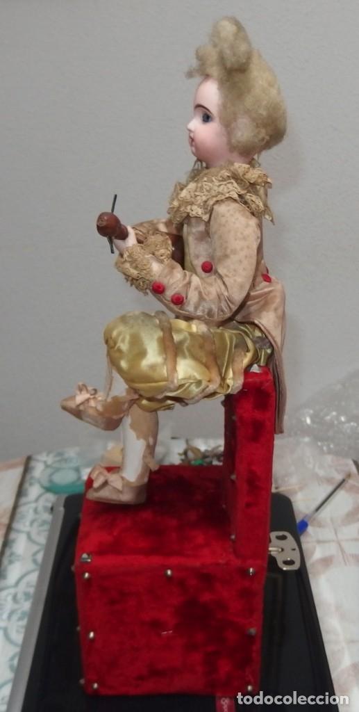 Muñecas Porcelana: AUTÓMATA VICHY,TETE JUMEAU,TROVADOR,FRANCE,FINALES DEL S.XIX,FUNCIONANDO - Foto 2 - 138960186