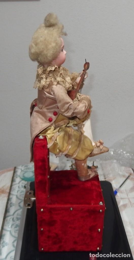 Muñecas Porcelana: AUTÓMATA VICHY,TETE JUMEAU,TROVADOR,FRANCE,FINALES DEL S.XIX,FUNCIONANDO - Foto 3 - 138960186