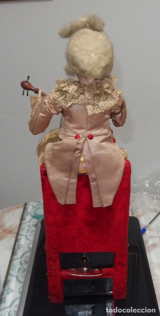 Muñecas Porcelana: AUTÓMATA VICHY,TETE JUMEAU,TROVADOR,FRANCE,FINALES DEL S.XIX,FUNCIONANDO - Foto 4 - 138960186