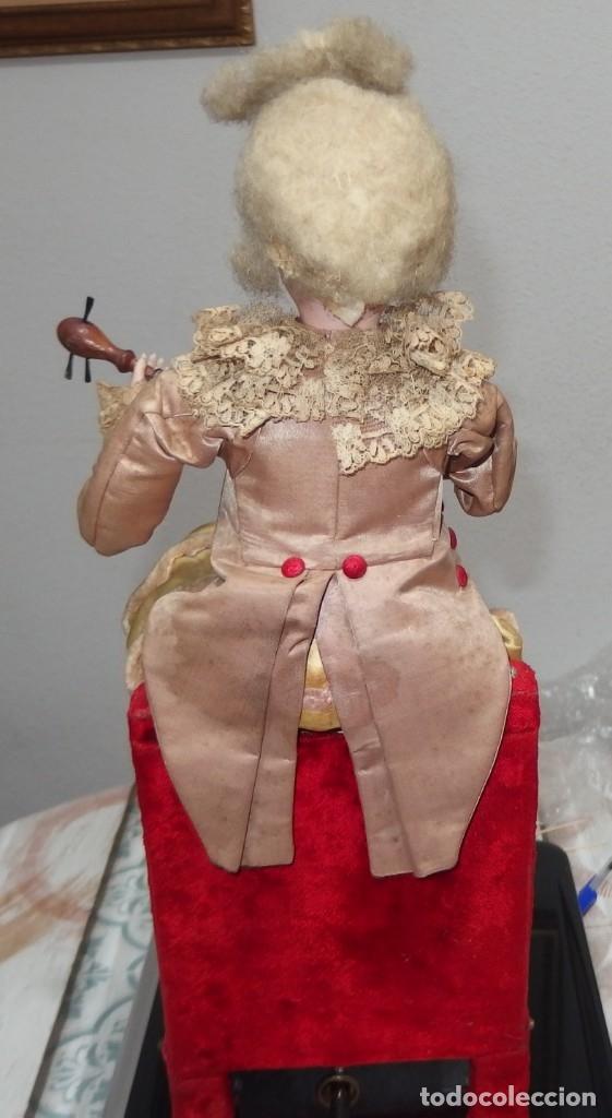 Muñecas Porcelana: AUTÓMATA VICHY,TETE JUMEAU,TROVADOR,FRANCE,FINALES DEL S.XIX,FUNCIONANDO - Foto 5 - 138960186