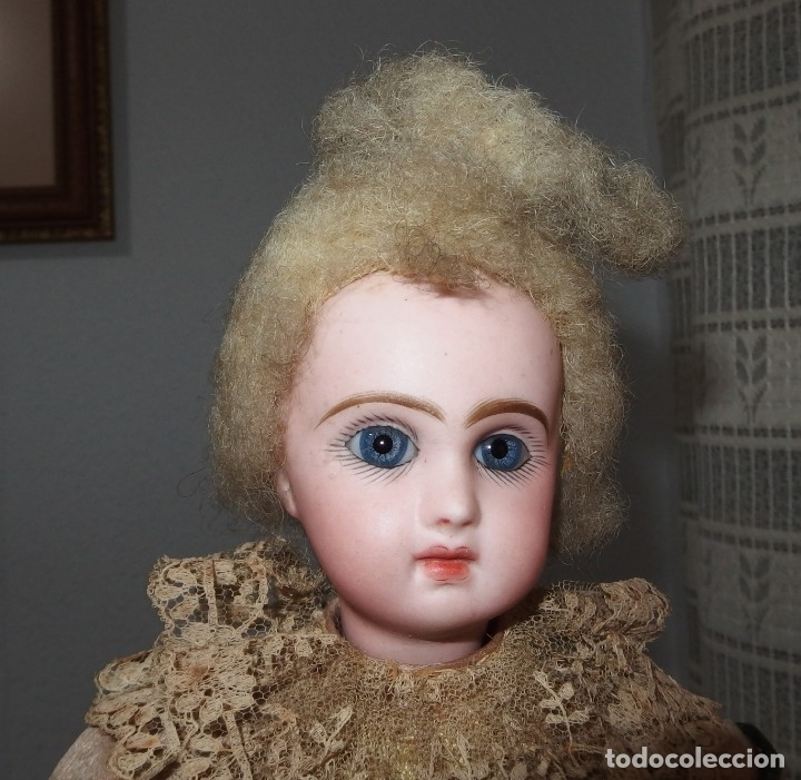 Muñecas Porcelana: AUTÓMATA VICHY,TETE JUMEAU,TROVADOR,FRANCE,FINALES DEL S.XIX,FUNCIONANDO - Foto 8 - 138960186