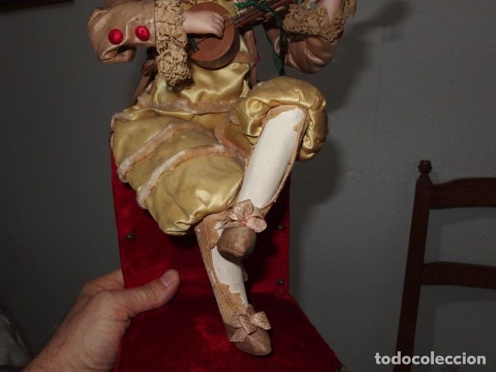 Muñecas Porcelana: AUTÓMATA VICHY,TETE JUMEAU,TROVADOR,FRANCE,FINALES DEL S.XIX,FUNCIONANDO - Foto 9 - 138960186