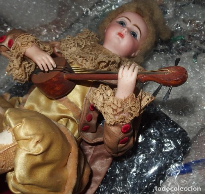 Muñecas Porcelana: AUTÓMATA VICHY,TETE JUMEAU,TROVADOR,FRANCE,FINALES DEL S.XIX,FUNCIONANDO - Foto 20 - 138960186