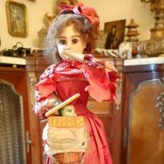 Muñecas Porcelana: MAGA AUTÓMATA. POSIBLEMENTE RENOU-JUMEAU. PORCELANA. FRANCIA. FINALES S. XIX. Lote 139365018