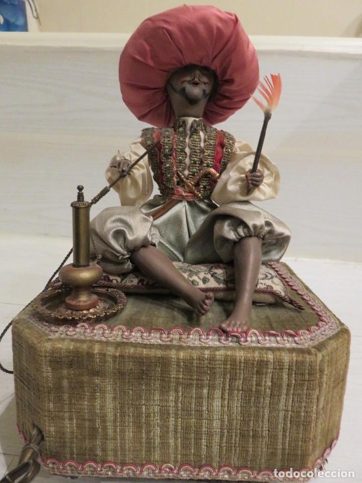 Muñecas Porcelana: ESPECTACULAR AUTOMATA FRANCES EL FUMADOR DE FARKAS 1940 - Foto 2 - 139484038