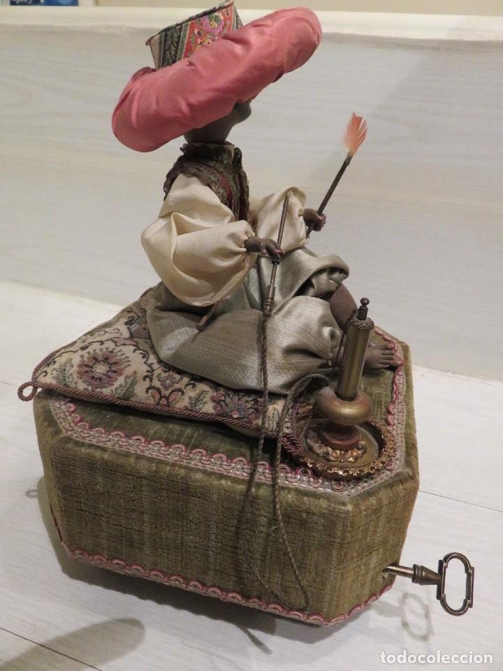 Muñecas Porcelana: ESPECTACULAR AUTOMATA FRANCES EL FUMADOR DE FARKAS 1940 - Foto 3 - 139484038