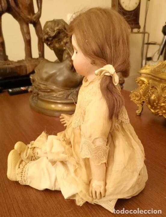 Muñecas Porcelana: MUÑECA J. STEINER - J. BOURGOIN. PORCELANA. PARLANTE. FRANCIA. FINALES S. XIX - Foto 2 - 141734898