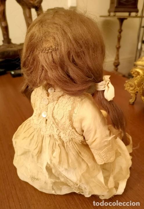 Muñecas Porcelana: MUÑECA J. STEINER - J. BOURGOIN. PORCELANA. PARLANTE. FRANCIA. FINALES S. XIX - Foto 3 - 141734898