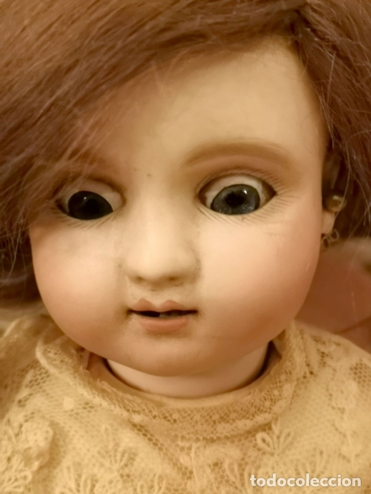 Muñecas Porcelana: MUÑECA J. STEINER - J. BOURGOIN. PORCELANA. PARLANTE. FRANCIA. FINALES S. XIX - Foto 4 - 141734898