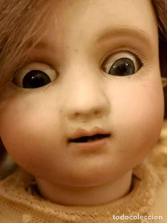 Muñecas Porcelana: MUÑECA J. STEINER - J. BOURGOIN. PORCELANA. PARLANTE. FRANCIA. FINALES S. XIX - Foto 5 - 141734898