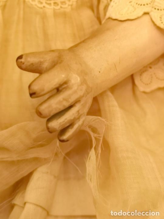 Muñecas Porcelana: MUÑECA J. STEINER - J. BOURGOIN. PORCELANA. PARLANTE. FRANCIA. FINALES S. XIX - Foto 8 - 141734898