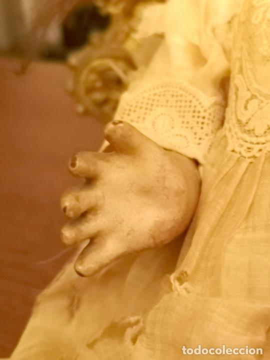 Muñecas Porcelana: MUÑECA J. STEINER - J. BOURGOIN. PORCELANA. PARLANTE. FRANCIA. FINALES S. XIX - Foto 9 - 141734898