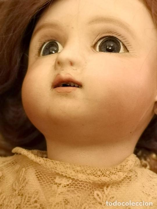 Muñecas Porcelana: MUÑECA J. STEINER - J. BOURGOIN. PORCELANA. PARLANTE. FRANCIA. FINALES S. XIX - Foto 10 - 141734898