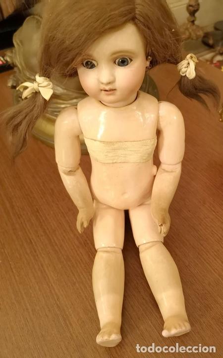 Muñecas Porcelana: MUÑECA J. STEINER - J. BOURGOIN. PORCELANA. PARLANTE. FRANCIA. FINALES S. XIX - Foto 11 - 141734898