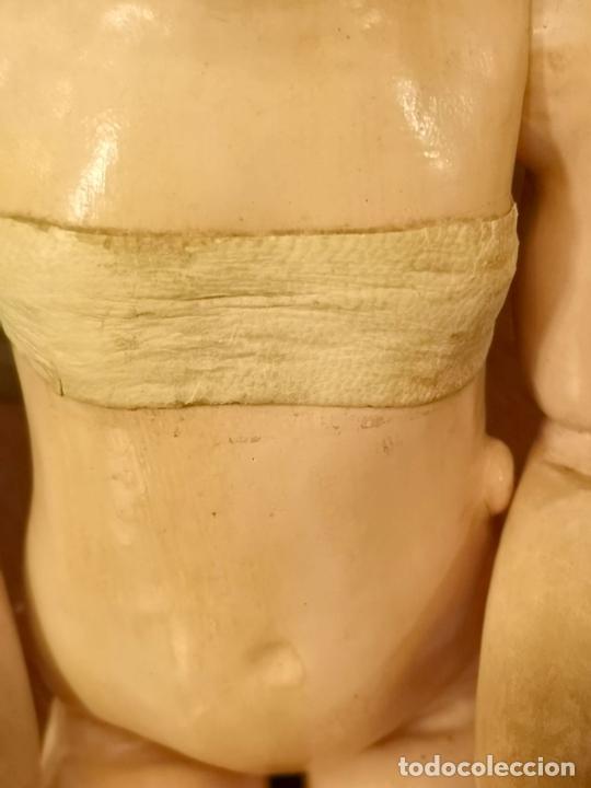 Muñecas Porcelana: MUÑECA J. STEINER - J. BOURGOIN. PORCELANA. PARLANTE. FRANCIA. FINALES S. XIX - Foto 12 - 141734898