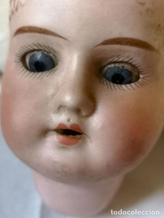 Muñecas Porcelana: MUÑECA. PORCELANA. NECESITA RESTAURACIÓN. FRANCIA. FINALES S. XIX - Foto 10 - 143397838