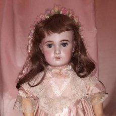 Muñecas Porcelana: MUÑECA ANTIGUA DE PORCELANA JUMEAU 1907 14. Lote 144205970