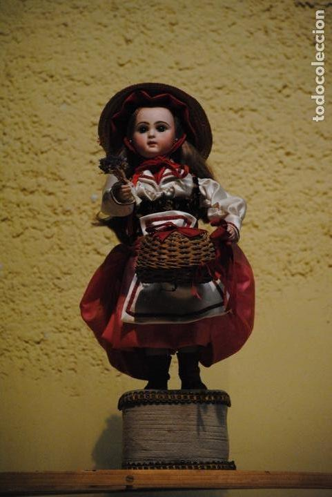 Muñecas Porcelana: Muñeca autómata Jumeau - Foto 4 - 144293582