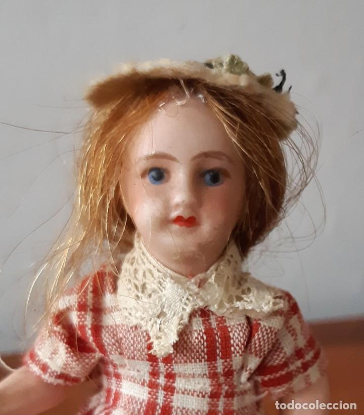 Muñecas Porcelana: Preciosa muñeca antígua para casa de muñecas - Foto 2 - 144531006