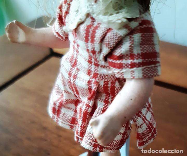 Muñecas Porcelana: Preciosa muñeca antígua para casa de muñecas - Foto 5 - 144531006