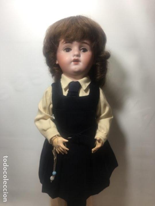 Muñecas Porcelana: Excelente muñeca de limoges original de 1910/1920 - Foto 2 - 145330398