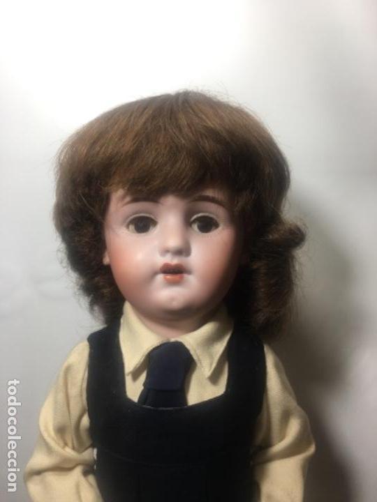 Muñecas Porcelana: Excelente muñeca de limoges original de 1910/1920 - Foto 4 - 145330398