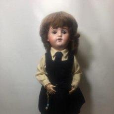 Muñecas Porcelana: EXCELENTE MUÑECA DE LIMOGES ORIGINAL DE 1910/1920. Lote 145330398
