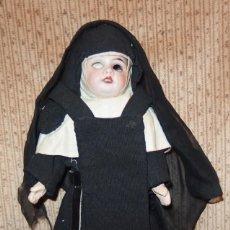 Muñecas Porcelana: MONJA DE PORCELANA,FRANCE,PPIO DEL S.XX. Lote 146749306
