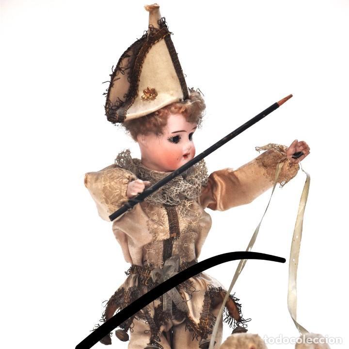 Muñecas Porcelana: IMPRESIONANTE ANTIGUO AUTOMATA FRANCES EL DOMADOR DE GANSOS SIGLO XIX - Foto 2 - 148042458