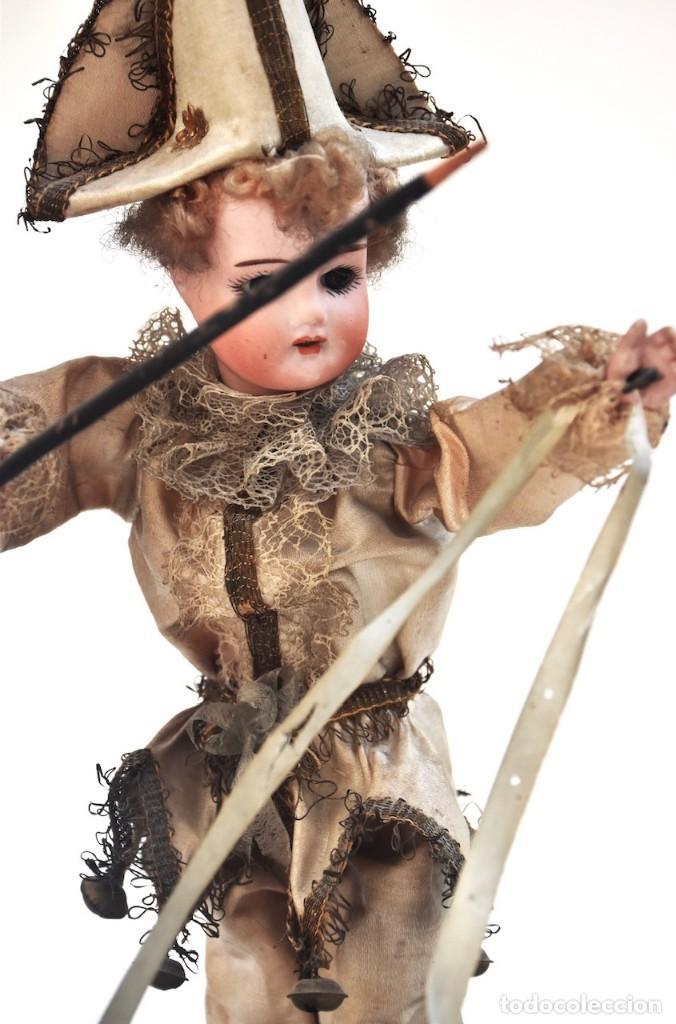 Muñecas Porcelana: IMPRESIONANTE ANTIGUO AUTOMATA FRANCES EL DOMADOR DE GANSOS SIGLO XIX - Foto 6 - 148042458