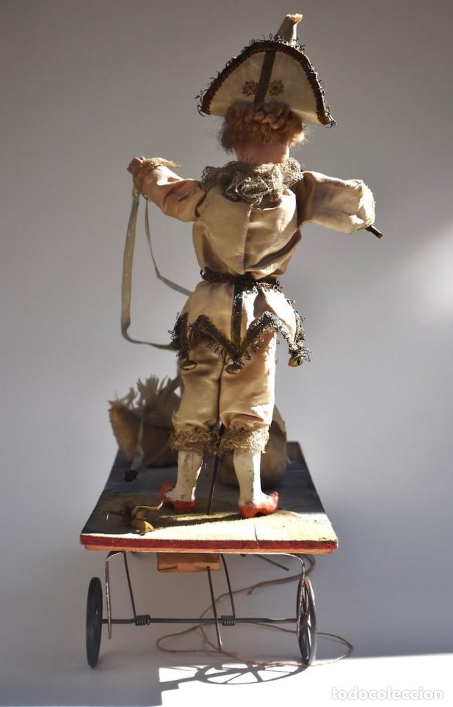 Muñecas Porcelana: IMPRESIONANTE ANTIGUO AUTOMATA FRANCES EL DOMADOR DE GANSOS SIGLO XIX - Foto 7 - 148042458