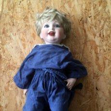 Muñecas Porcelana: MUÑECA DE PORCELANA DE LA CASA PARISINA SFBJ 1987. Lote 148889462
