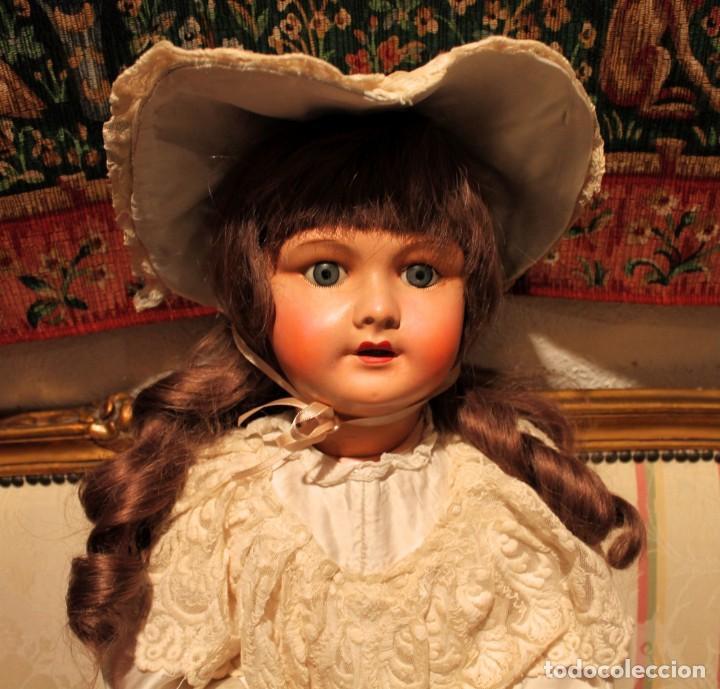 Muñecas Porcelana: GRAN Y PRECIOSA MUÑECA FRANCESA, 70CM, CABEZA DE PORCELANA CON ROPA ORIGINAL - DOLL,POU- DOLL,POUPÉE - Foto 11 - 149821710