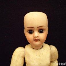 Muñecas Porcelana: MUÑECA ANTIGUA DE PORCELANA FRANCESA S.XIX. Lote 151074446