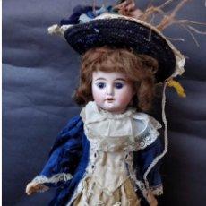 Muñecas Porcelana: MUÑECA ANTIGUA DE PORCELANA FLEISCHMANN & BLÖDEL 42 CM. Lote 153562292