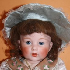 Muñecas Porcelana: REPRODUCCION EXACTA DE SFBJ 251 EN PORCELANA. Lote 154541694